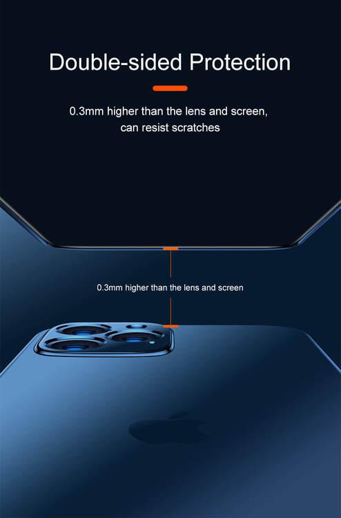 Lyxdesigner ljusgrön transparent mobilskal för iPhone 11,11Pro,11Pro MAX
