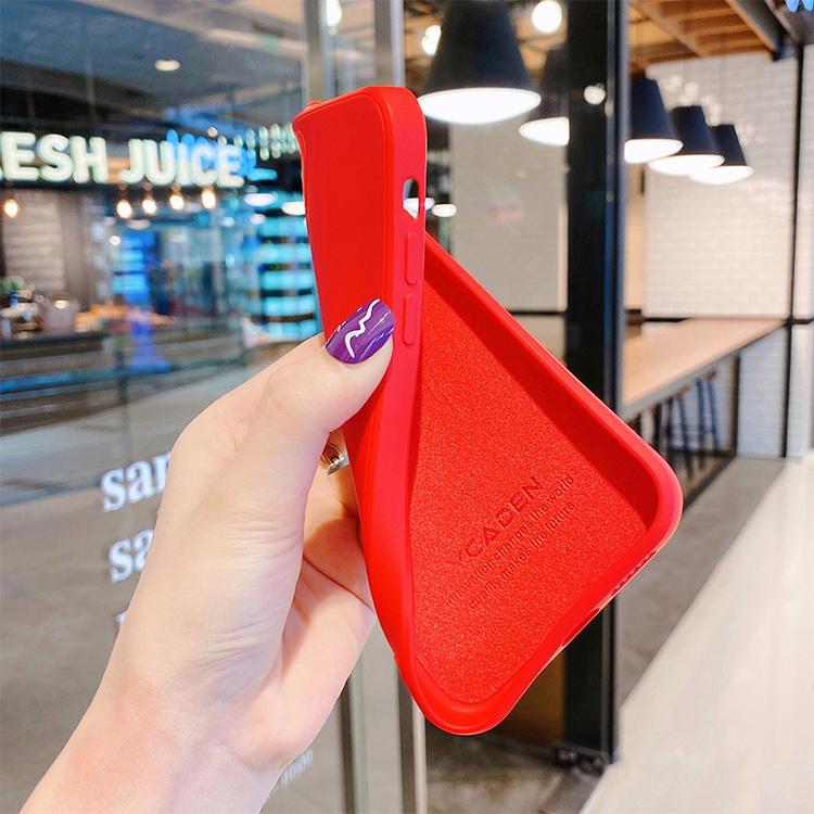 2020 Nytt fyrkantigt mjukt mikrofiber fodral till Iphone 11 silikon TPU- High Quality