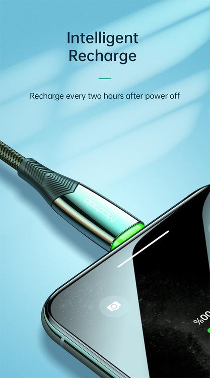 Auto Power Off Ultra Snabb laddning 2020 Nya 3A smart Ultrasnabb laddningskabel