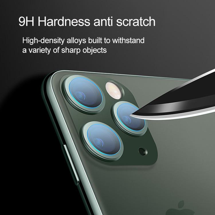 Linsskydd HD iPhone- Bakre Kamera för iPhone 11 Series-kameralins-High Quality!