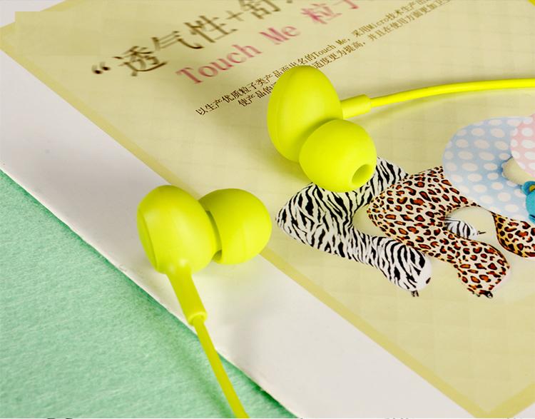 XO S6 Candy Series Stereo In-Ear 3,5 mm musik hörlurar med mikrofon handfri
