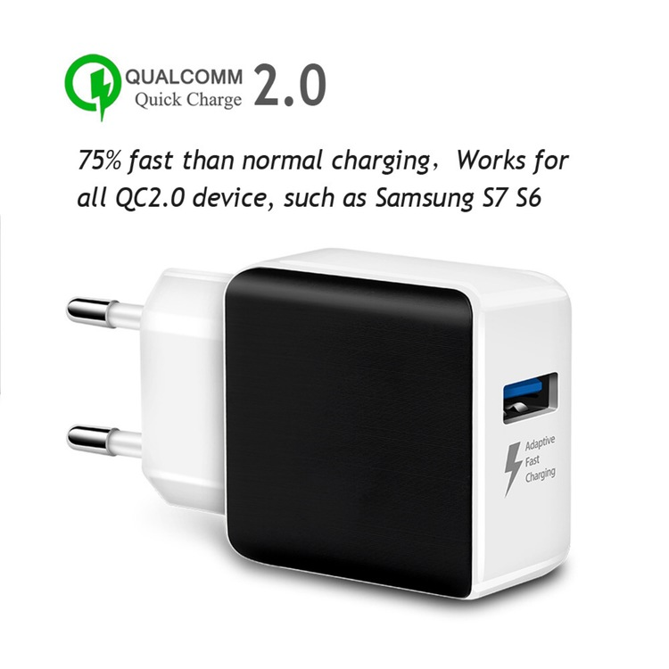 Qualcomm USB Laddare 18 Watt QC 3.0