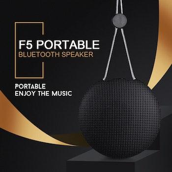 TWS Utomhus Vattentät Mini Bluetooth-högtalare Trådlös anslutning