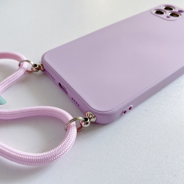 iPhone 11silikon skal Anti-chock Mjukt TPU Rosa