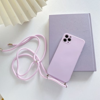 iPhone 11silikon skal Anti-chock Mjukt TPU Rosa
