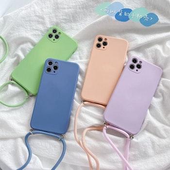 iPhone 11Pro Max silikon skal Anti-chock Mjukt TPU Beige