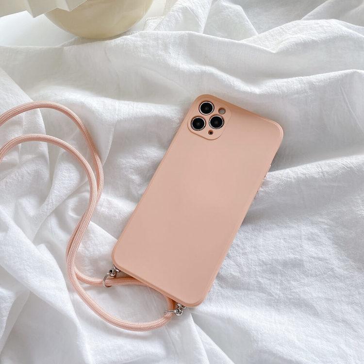 Kopia Kopia iPhone 7 silikon skal Anti-chock Mjukt TPU Beige