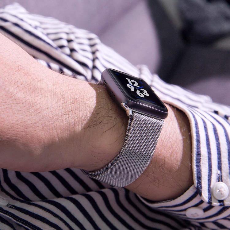 44 / 42mm Apple Watch klockarmband Rostfritt stål band
