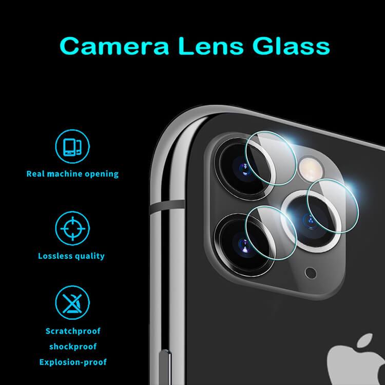 Linsskydd HD iPhone- Bakre Kamera för iPhone 12/12PRO/12PRO MAX