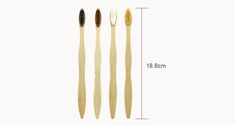 Våghandtag Eco Friendly Bamboo Tandborste