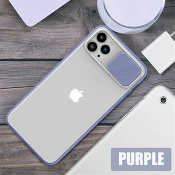 Mobilskal med kameralinsskydd till iPhone 12Pro
