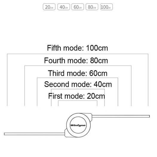 Universell infällbar 3 i 1 Multi Multiple 3in1 USB-laddningskabel