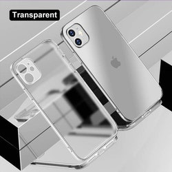 Lyxdesigner transparent mobilskal för iPhone 11,11Pro,12,12Pro,12Pro MAX