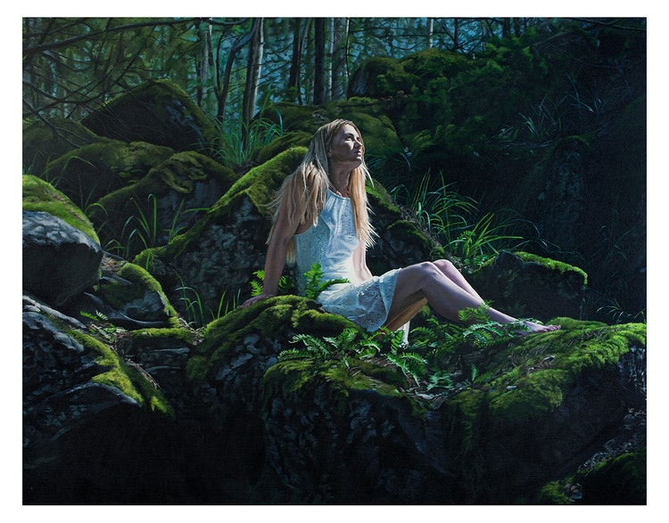 Mossy Stones - Limited edition print