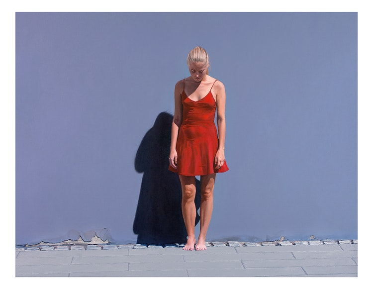 Red Dress II - Limited edition print