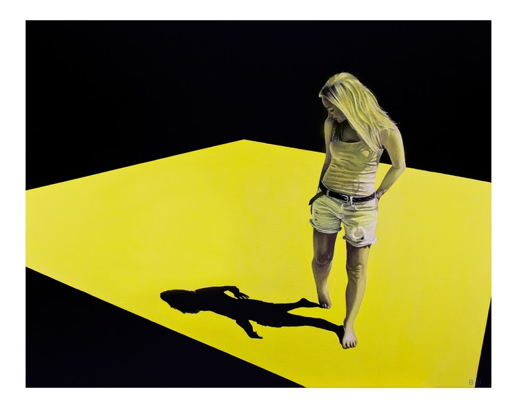 The Shadow - Limited edition print