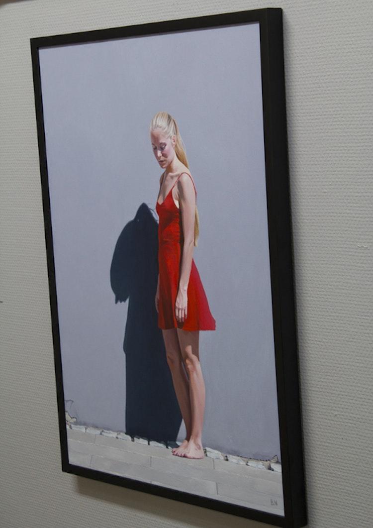 """""""Red Dress"""" - originalmålning"""
