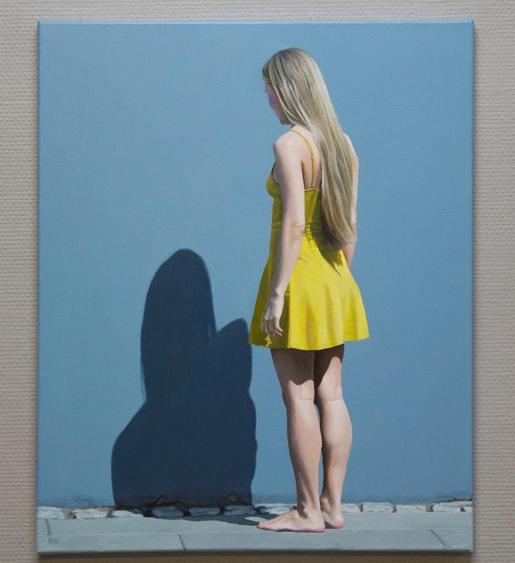 """Yellow Dress"" - originalmålning"