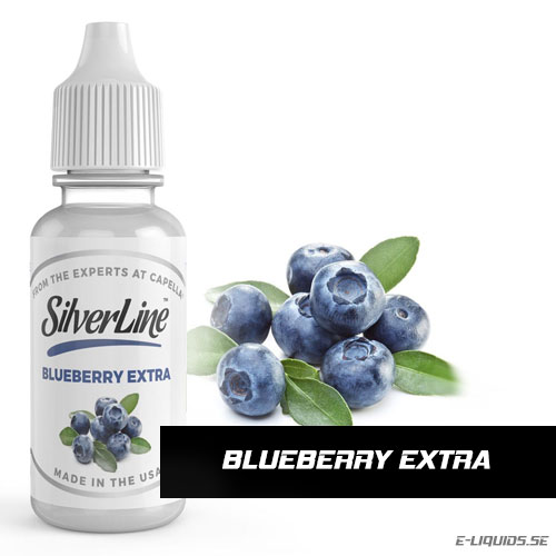 Blueberry Extra - Capella Flavors (Silverline)