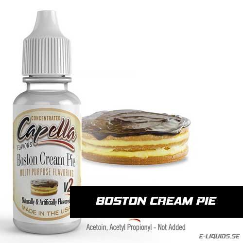 Boston Cream Pie v2 - Capella Flavors
