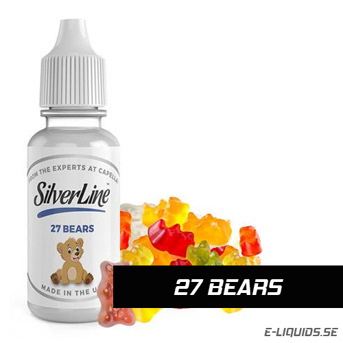 27 Bears - Capella Flavors (Silverline)