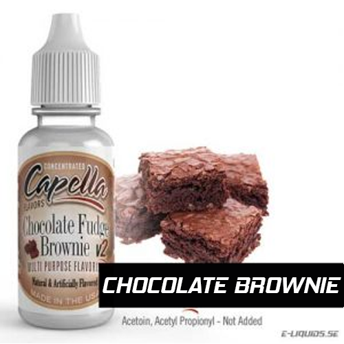 Chocolate Fudge Brownie v3 - Capella Flavors