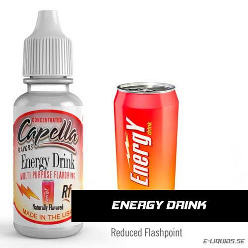 Energy Drink RF - Capella Flavors