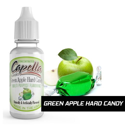 Green Apple Hard Candy - Capella Flavors