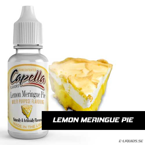 Lemon Meringue Pie - Capella Flavors