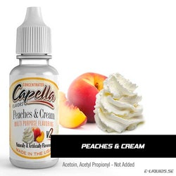 Peaches and Cream v2 - Capella Flavors