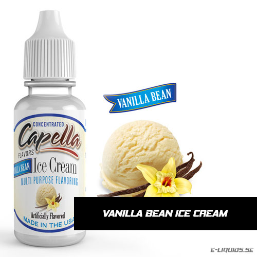 Vanilla Bean Ice Cream - Capella Flavors