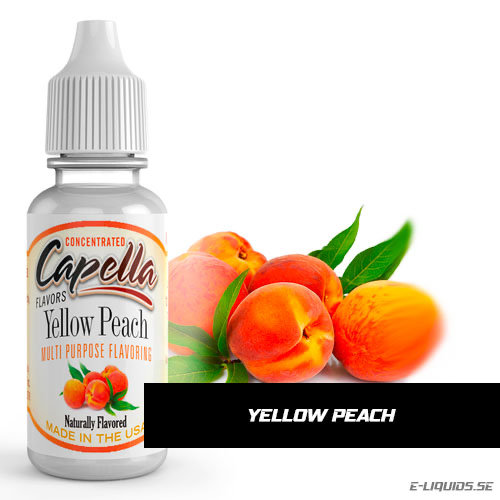 Yellow Peach - Capella Flavors