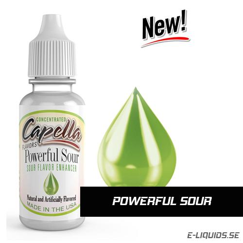 Powerful Sour (Flavor Enhancer) - Capella Flavors