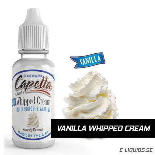 Vanilla Whipped Cream - Capella Flavors