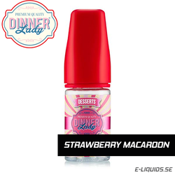 Strawberry Macaroon - Dinner Lady