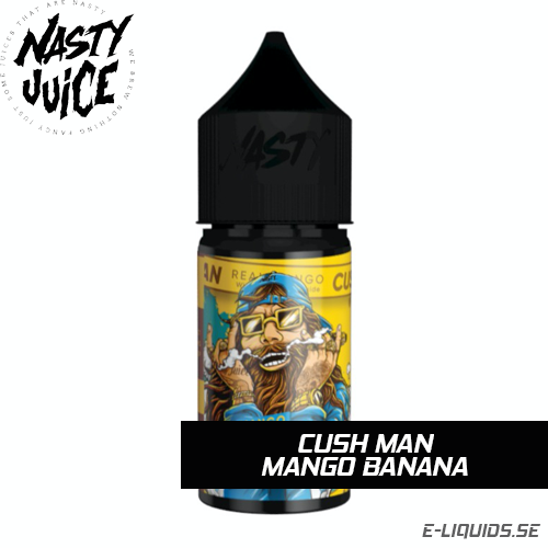 Cush Man (Mango Banana) - Nasty Juice