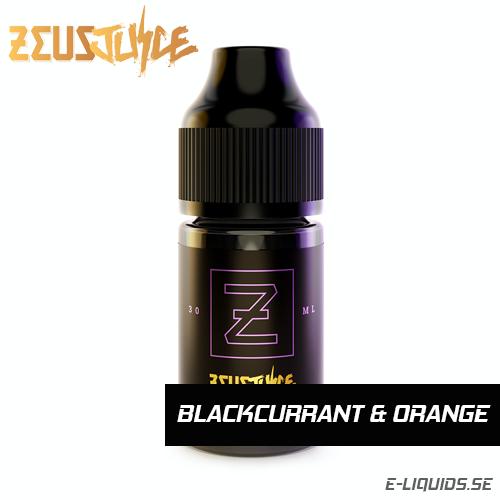 Blackcurrant and Orange - Zeus Juice