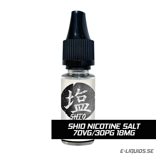 Shio Nicotine Salt 70VG/30PG 18mg