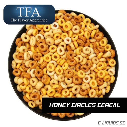 Honey Circles Cereal - The Flavor Apprentice
