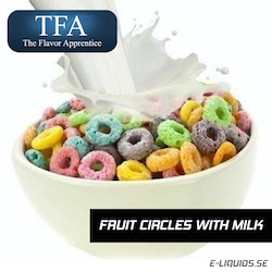Fruit Circles with Milk - The Flavor Apprentice