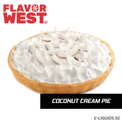 Coconut Cream Pie - Flavor West