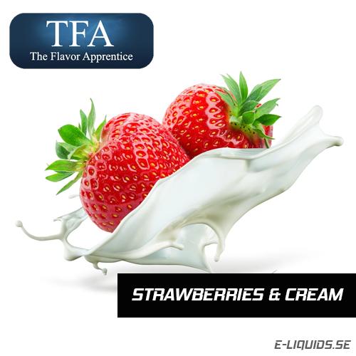 Strawberries & Cream - The Flavor Apprentice