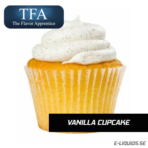 Vanilla Cupcake - The Flavor Apprentice