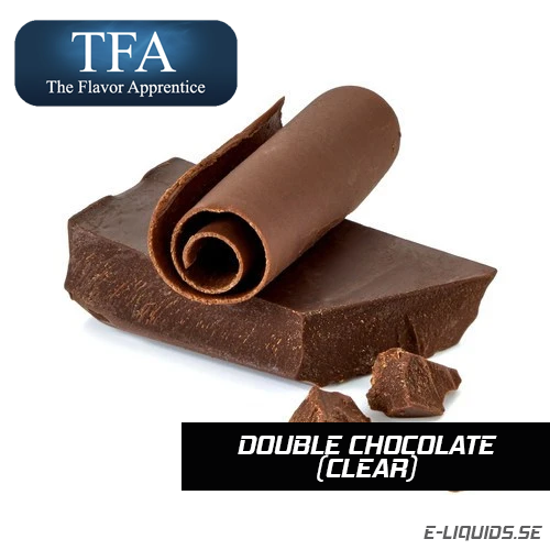 Double Chocolate (Clear) - The Flavor Apprentice