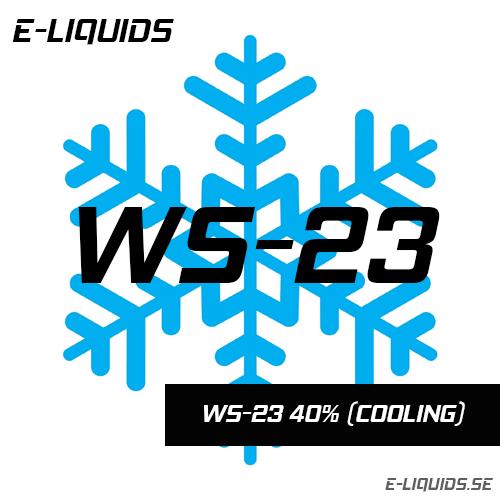WS-23 40% (Cooling) - E-Liquids
