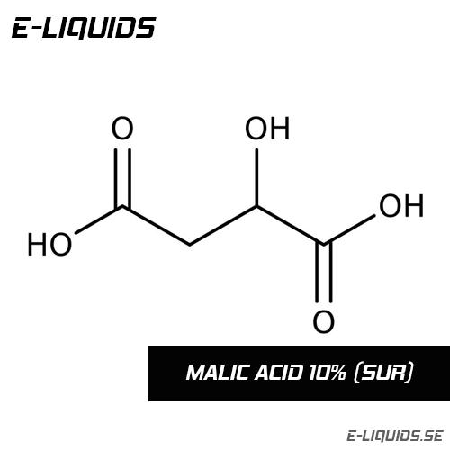 Malic Acid 10% (Sour) - E-Liquids