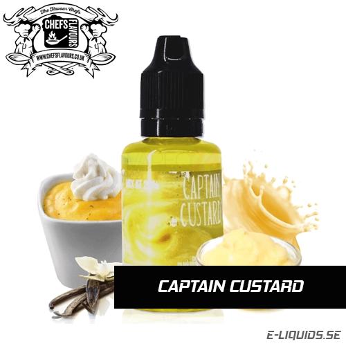 Captain Custard - Chef's Flavours