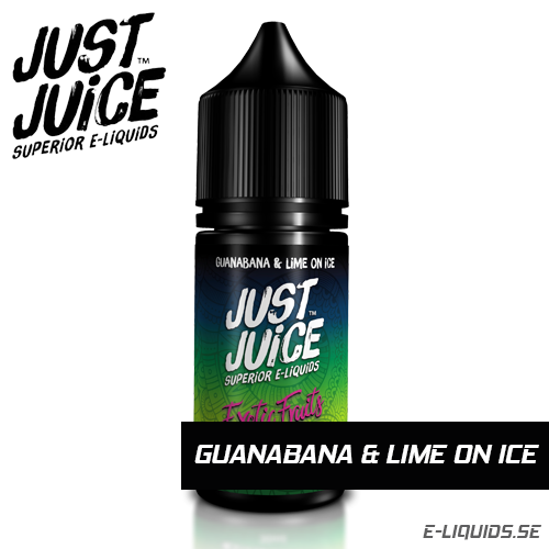 Guanabana and Lime on Ice - Just Juice