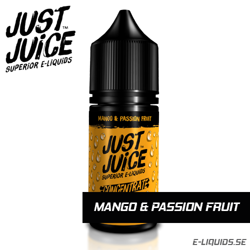 Mango and Passion Fruit - Just Juice