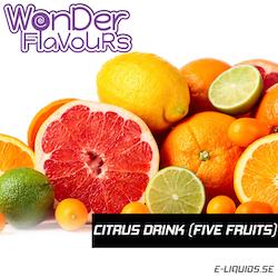 Citrus Drink (Five Fruits) - Wonder Flavours